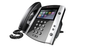 Microsoft Lync | Microsoft Skype for Business - Polycom Teléfono IP VVX 600