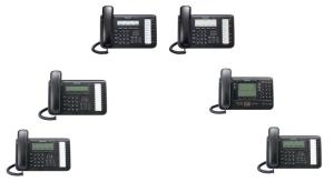 Panasonic Teléfonos IP KX-NT551-B, KX-NT543-B, KX-NT553-B, KX-NT556-B, KX-NT560-B, KX-NT546-B