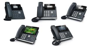 Yealink Teléfonos SIP T4 Series SIP-T48G, SIP-46G, SIP-42G, SIP-41P, SIP-40P